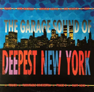 V/A - The Garage Sound Of Deepest New York (LP) (G+/G++)